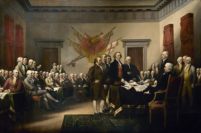 Declaration of Independence (1818) by John Trumbull