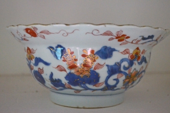 Imari bowl in the Historic Kenmore collection.