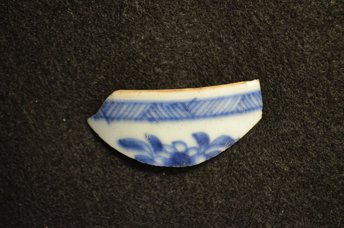 Blue and White Artifact
