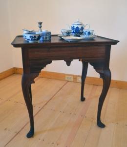 Tea Table in Hall Back Room