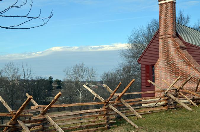 View of Fredericksburg across the River
