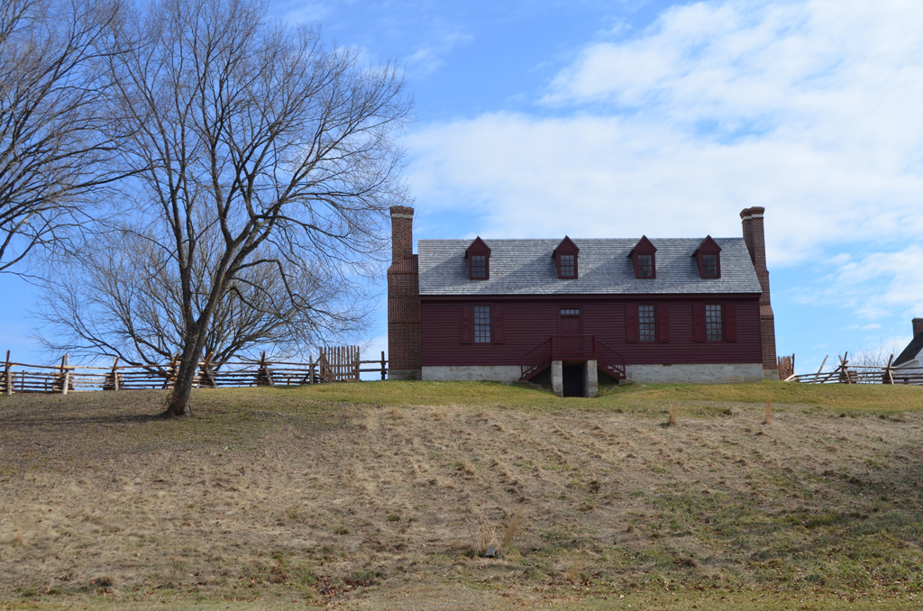 Washington House replica at Ferry Farm (2)