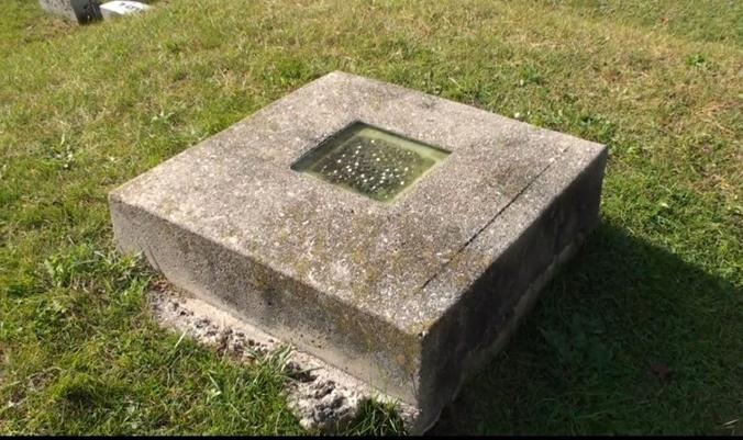 Grave Window