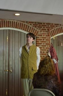 Christian Humphrey as Timothy Sharp, The Lying Valet