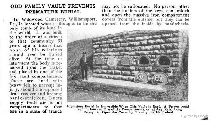 Wildwood Cemetery Vault