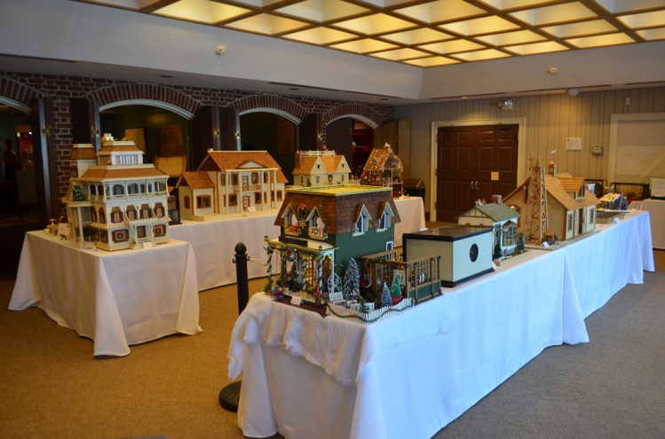 "Dollhouses on display at the 5th Annual ""A Wee Christmas at Kenmore."""