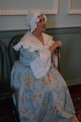 Barbara Cochran as Betty Washington Lewis.