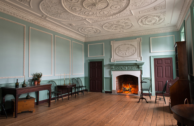 Kenmore's Dining Room at Rest