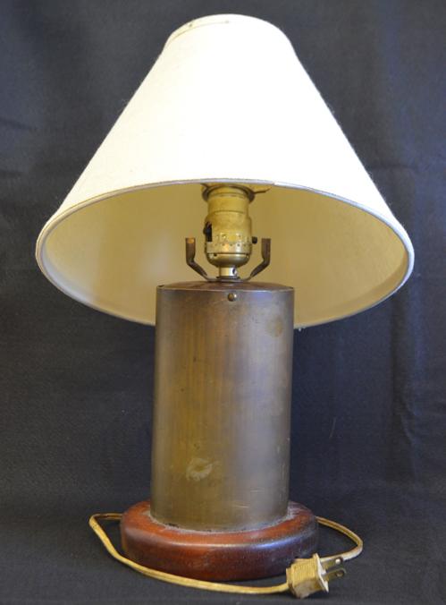 Lamp - Artillery Shell