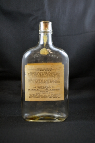 Mount Vernon Whiskey - Back