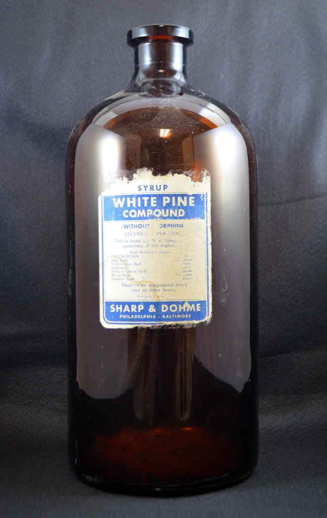 Sharp and Dohme White Pine Compound Syrup
