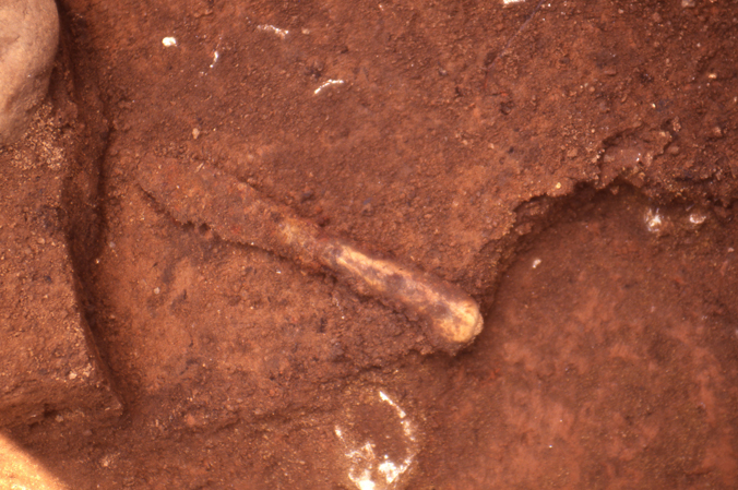 Bone handled knife found in Kenmore's midden