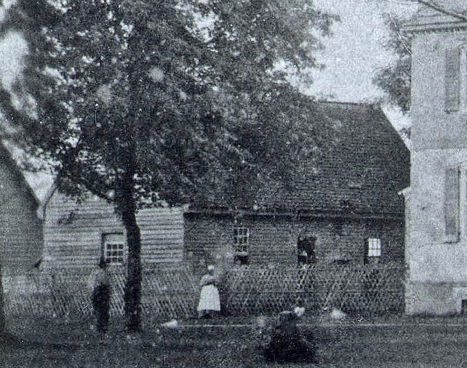 Kitchen at Kenmore in the mid-1800s