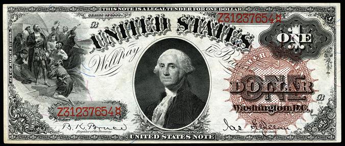 US $1 1880