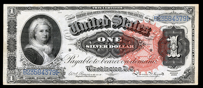 US $1SC 1886