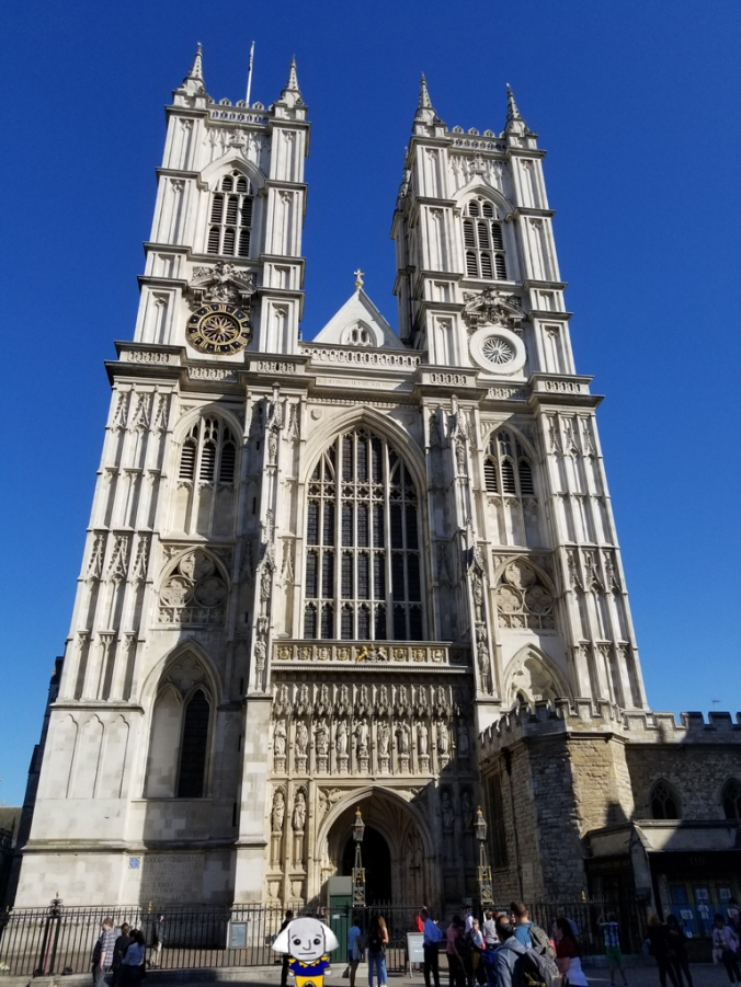 GW at Westminster Abbey