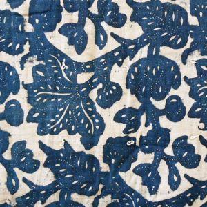 Quilt fabric resist