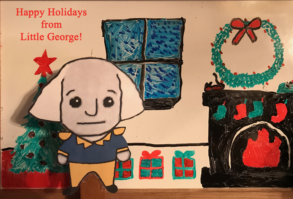 Happy Holidays from Little George