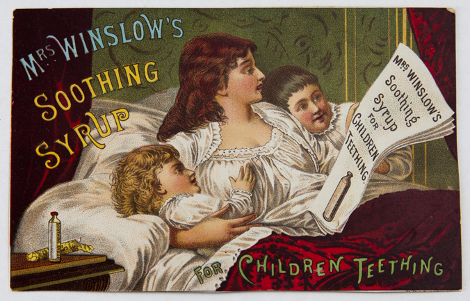 Mrs. Winslow's Soothing Syrup advertisement 1