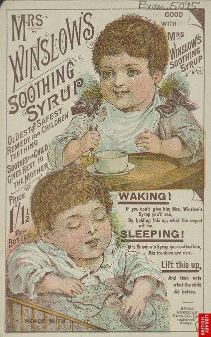 Mrs. Winslow's Soothing Syrup advertisement 2