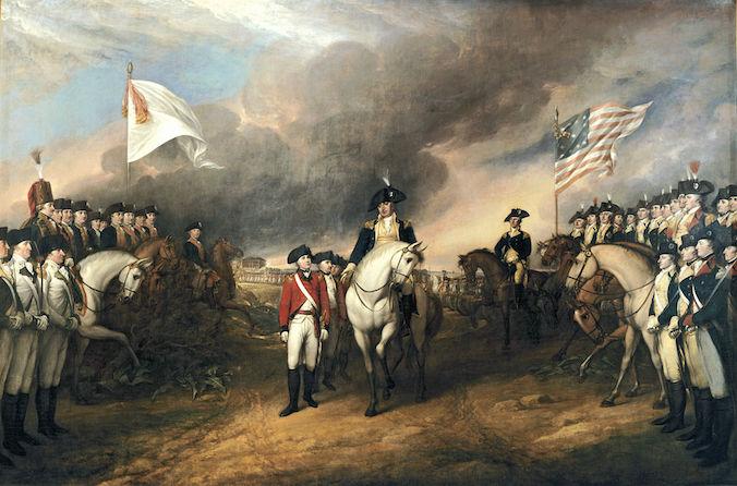 Surrender of Lord Cornwallis (1820) by John Trumbull