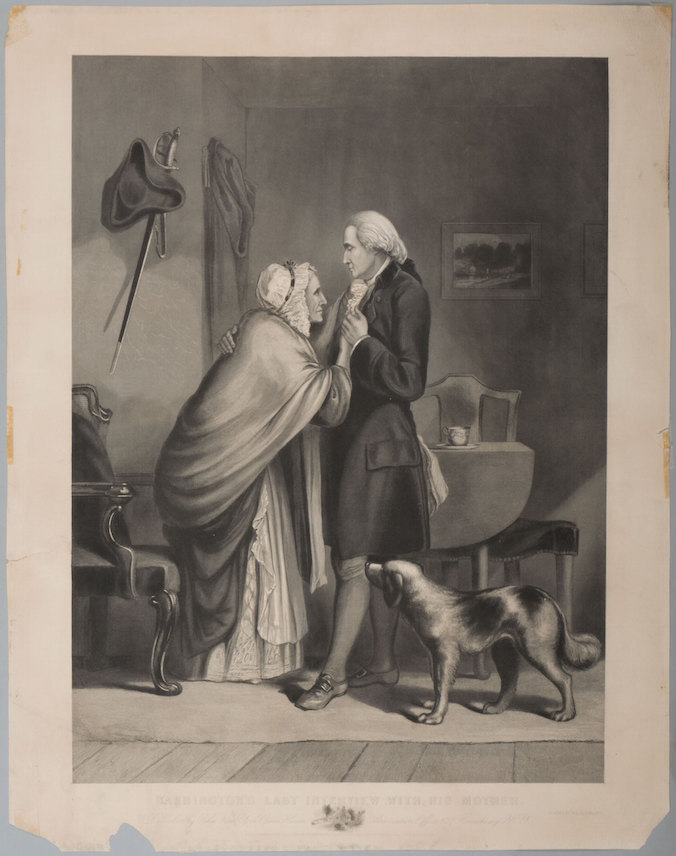 Washington's Last Interview with his Mother