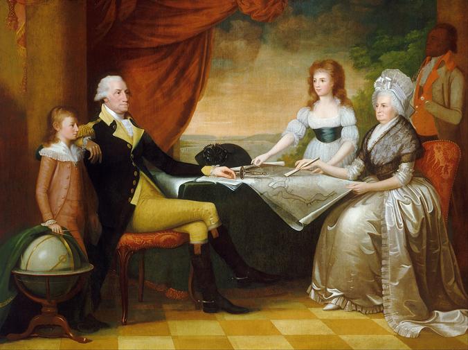 The Washington Family (late 1790s) by Edward Savage