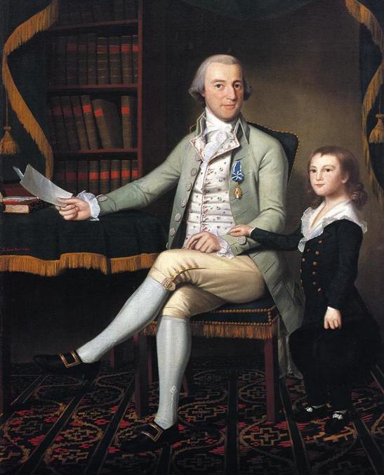 Benjamin Tallmadge (1790) by Ralph Earl